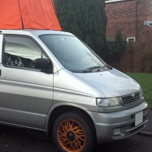 Screen Covers for Mazda Bongo Camper