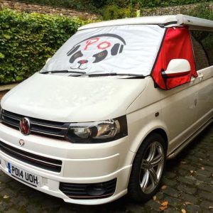 Custom VW Windshield Cover