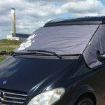 Mercedes Camper Van Thermal Screen Dropdown Up